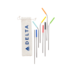 Delta Reusable Straw 10-in-1 Set Thumbnail